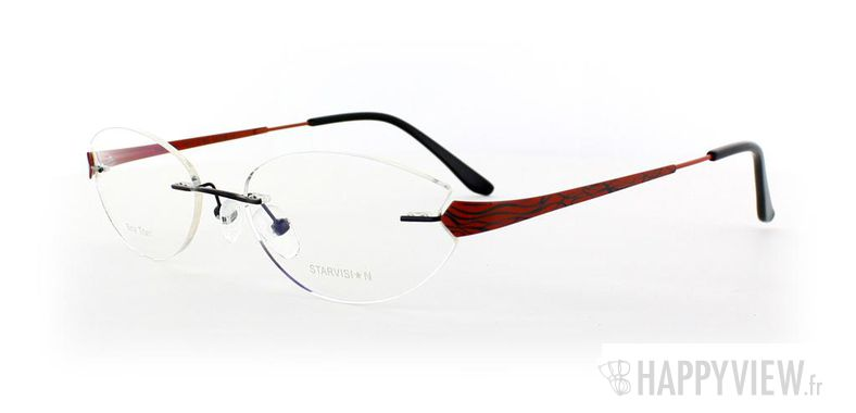 Lunettes de vue Starvision by Seiko Starvision 1017 Titane rouge - vue de 3/4