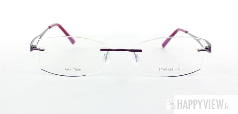 Lunettes de vue Starvision by Seiko Starvision 1003 Titane rose - vue de face