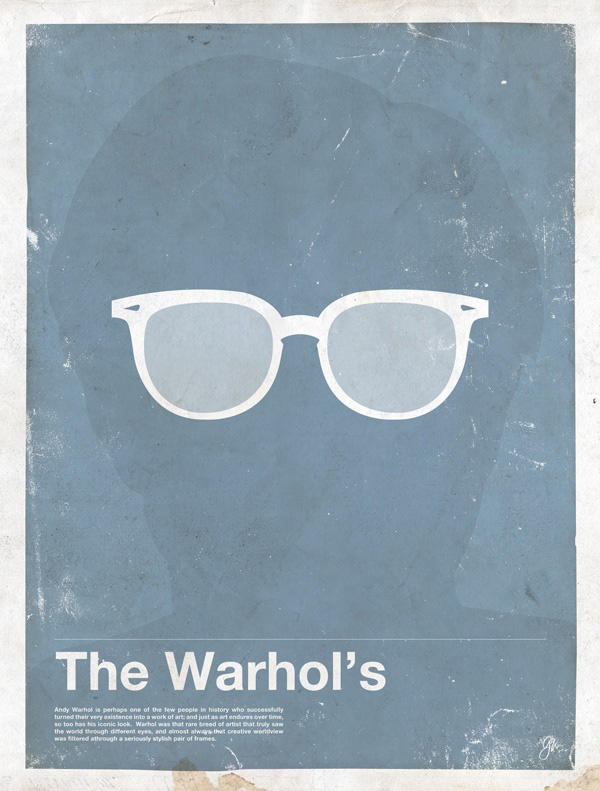 lunettes andy Warhol