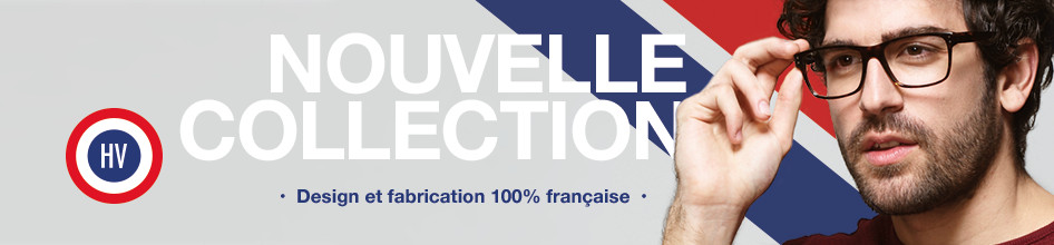 Collection Made in France - Lunettes de vue Homme