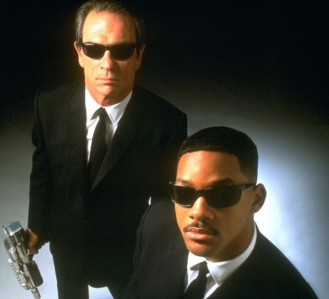 lunettes de men in black