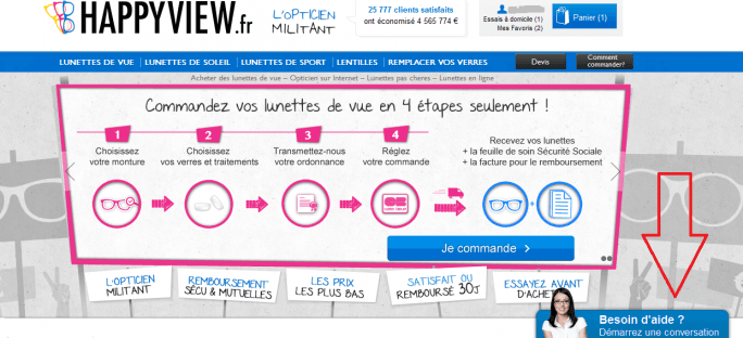 les conseillers happyview