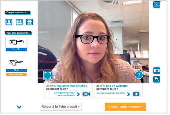 essayage virtuel de lunettes de vue Lunettes de vue femme opticien en ligne favori en europe 1,5 million de clients satisfaits essai  optimisez votre recherche et testez l'essayage en ligne.