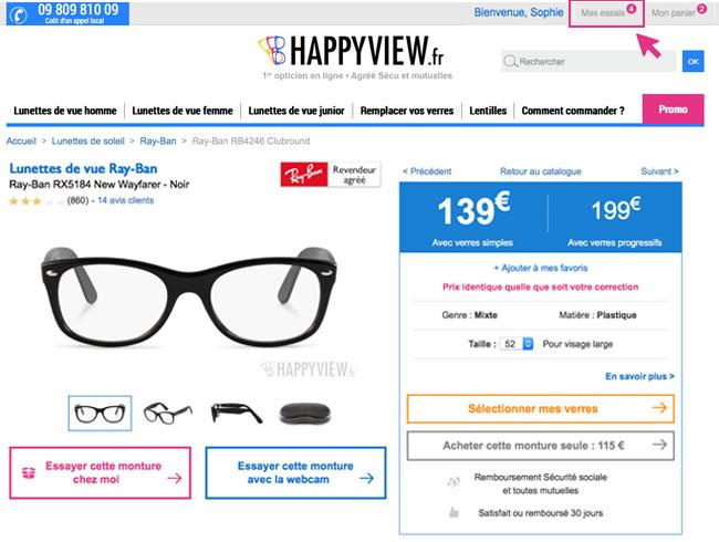 Essayez les lunettes