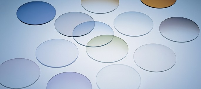 verre de lunettes