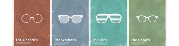 lunettes minimalistes