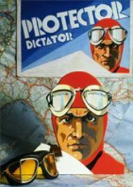 Publicité de l'époque pour les lunettes Persol Protector