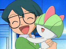 Max, le frère de Flora, dans les pokemon