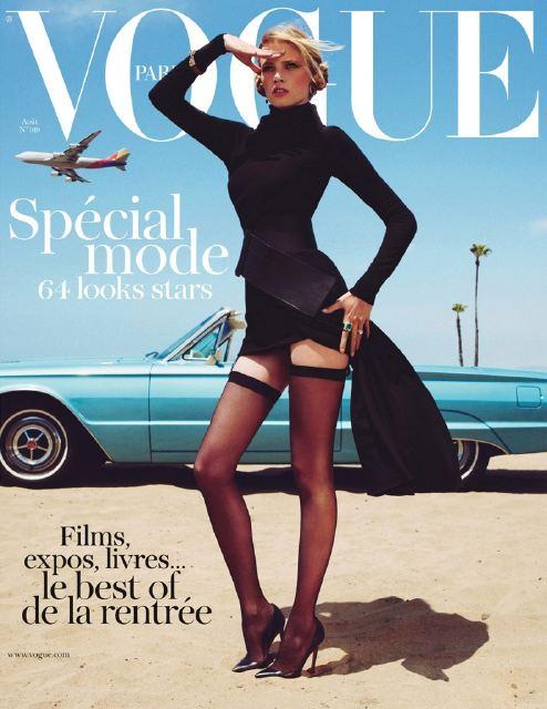 Couverture de Vogue du mois d'Aout