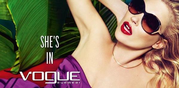 Publicité avec Kate Moss