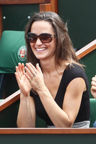 Pippa Middleton en lunettes Gucci