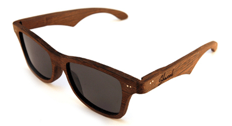 lunettes en bois ray ban shwood