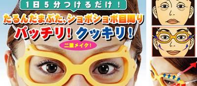 des lunettes anti rides