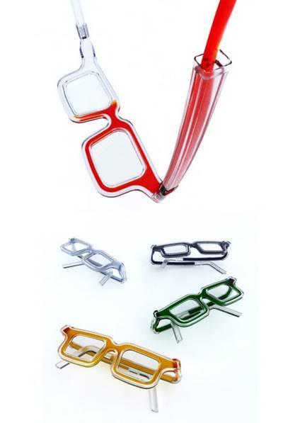 des lunettes liquides