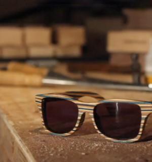 bois lunettes