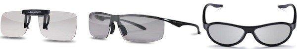 Les nouveaux modèles de lunettes 3D LG