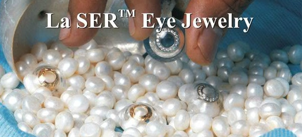 Lentilles en or Eye Jewerly