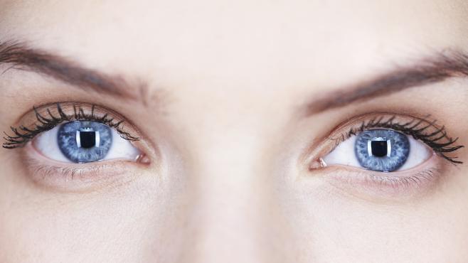 paire des yeux
