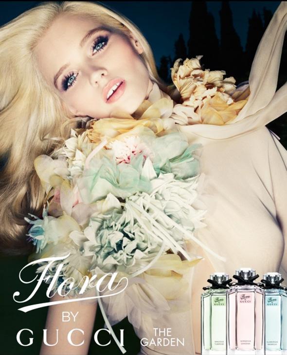 Publicité Parfum Flora By Gucci