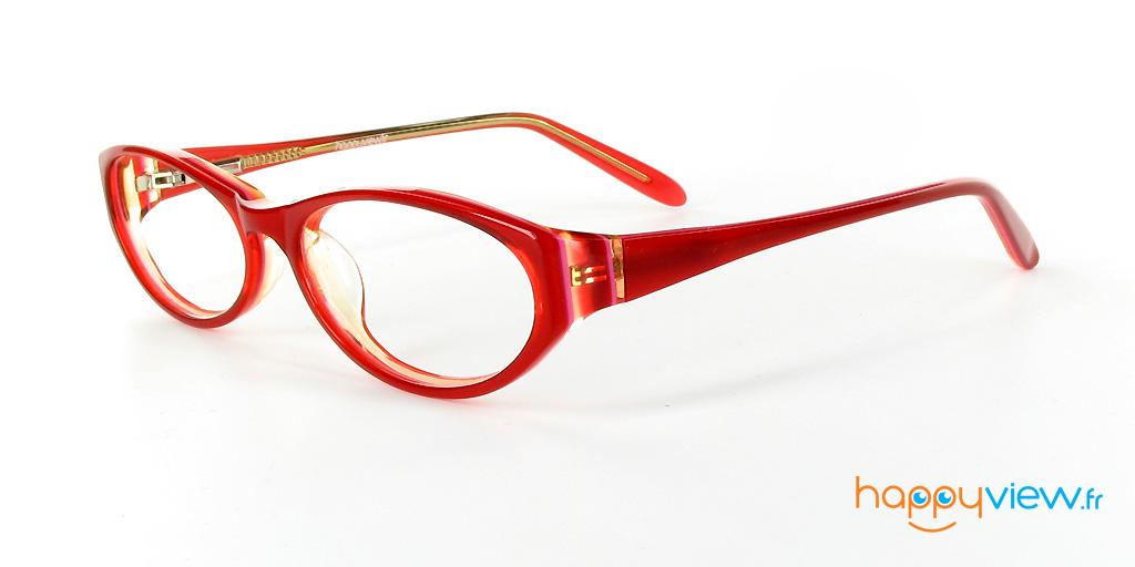lunettes cagliari rouges