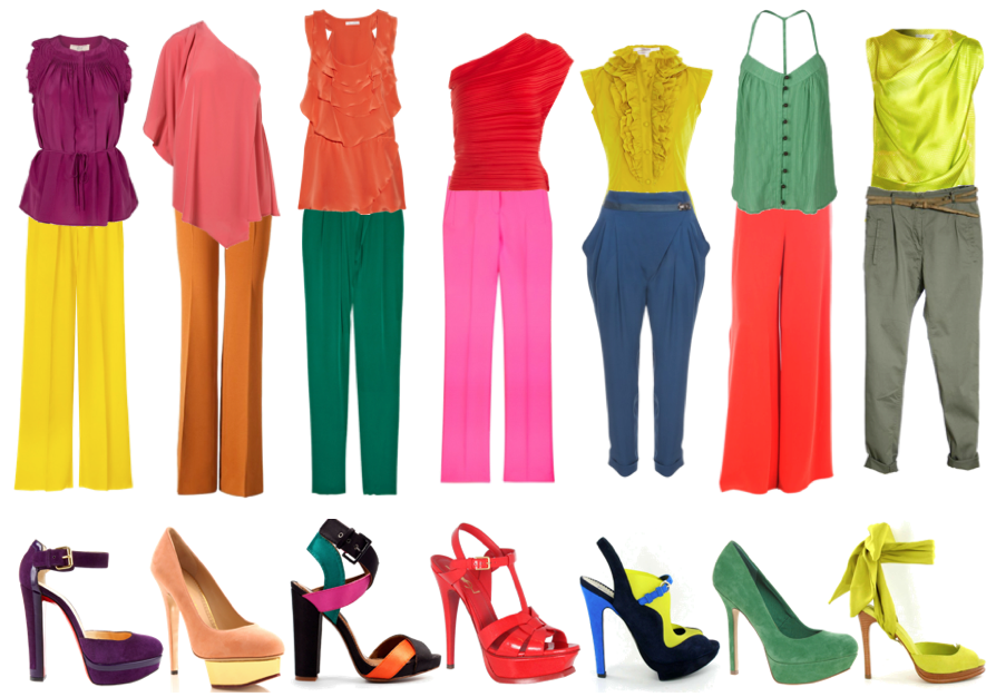look color block