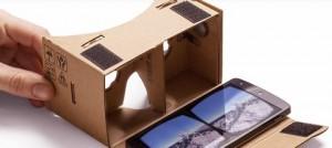 cardboard : carton + smartphone = 3D