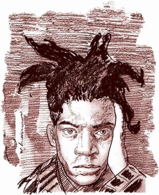 Peinture de Jean-Michel Basquiat